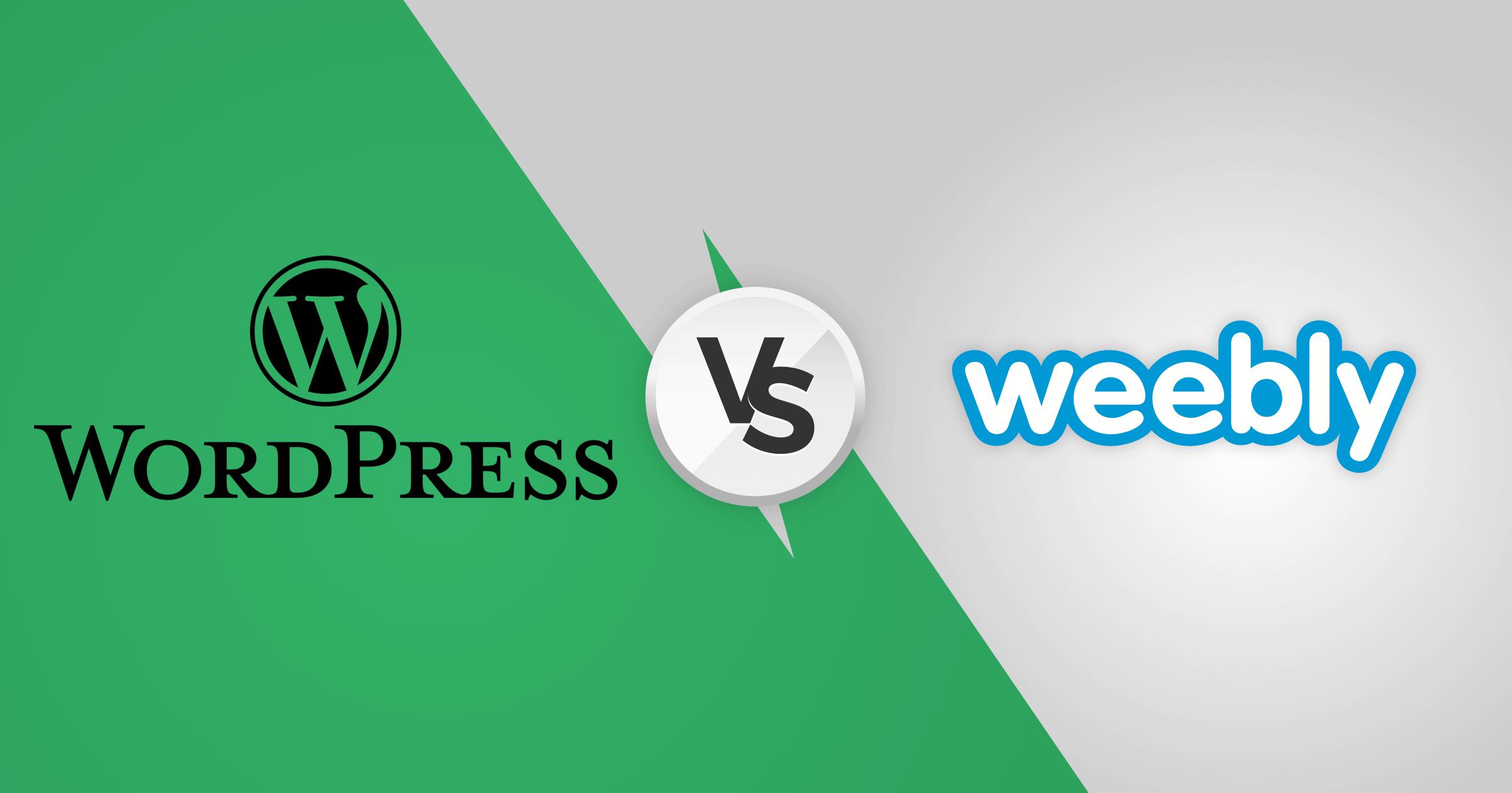 WordPress vs. Weebly - Mana yang Tepat (UNTUK ANDA)? (2020)