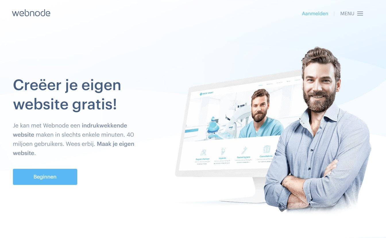 10 Beste (écht) GRATIS website-bouwers van 2020