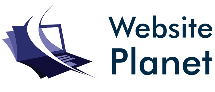 Website Planet logo made with LogoMaker