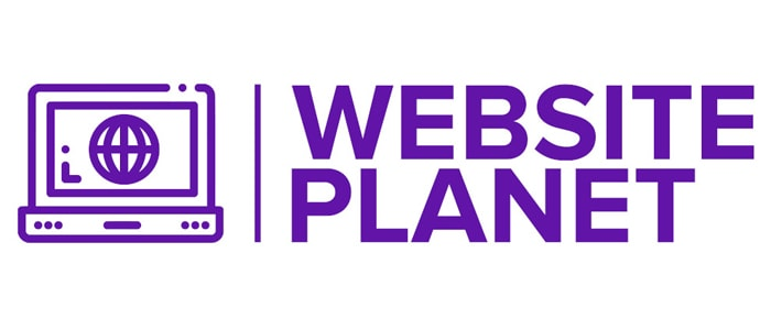 Website Planet logo made with Tailor Brands