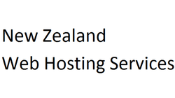 New Zealand Web Hosting Services