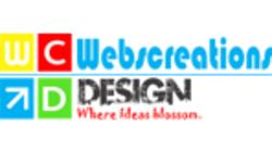 webcreationdesign logo rectangular