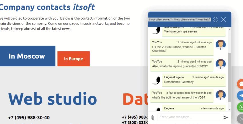 Company contacts ITSOFT 850x435 1