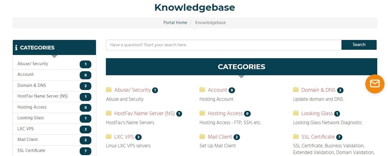 HostFav Knowledgebase