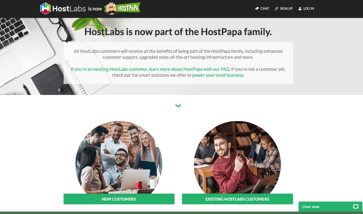 HostLabs Review - Main Image
