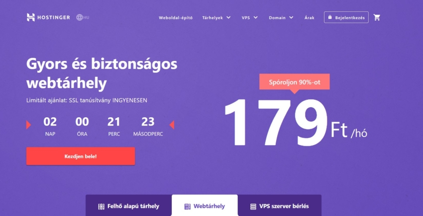 Hungarian Hosting Comparison Page