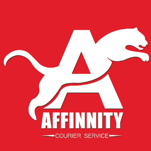 A logo - Affinnity Courier Service