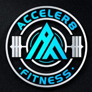 A logo - Acceler8 Fitness