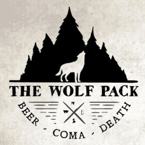 Compass logo - The Wolf Pack