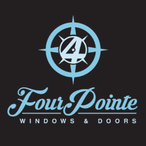 Compass logo - Four Pointe Windows & Doors