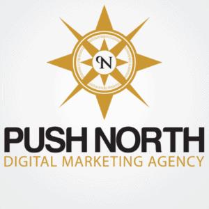 Compass logo - Push North
