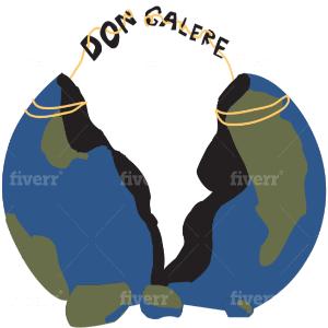Globe logo - Don Galere