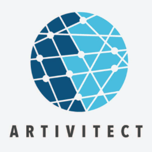 Globe logo - Artivitect