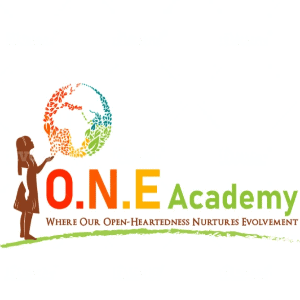 Globe logo - O.N.E Academy