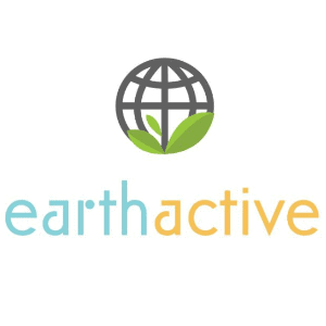 Globe logo - earth active