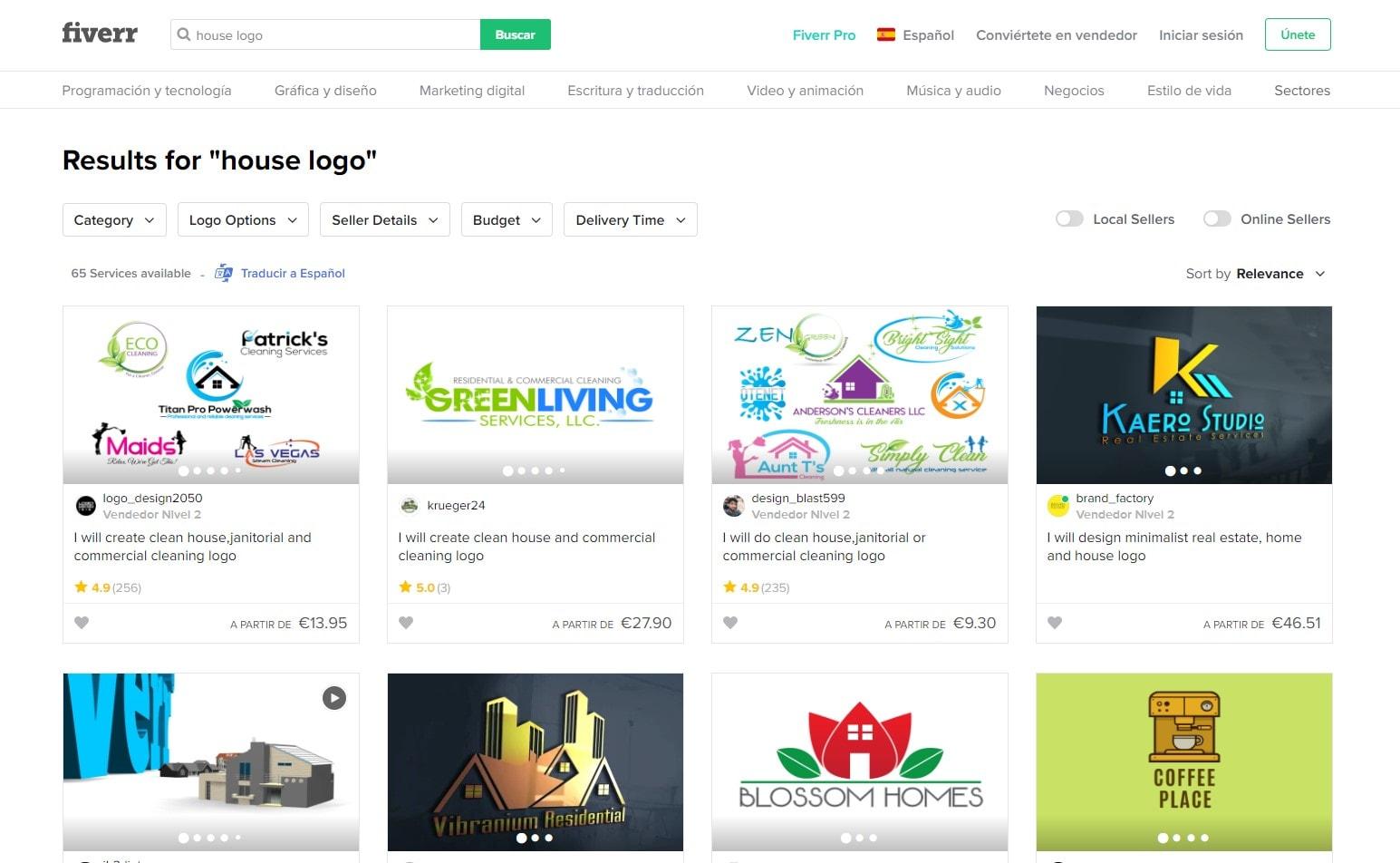 Los 9 mejores logos de casa y cómo crear el tuyo gratis [2021]