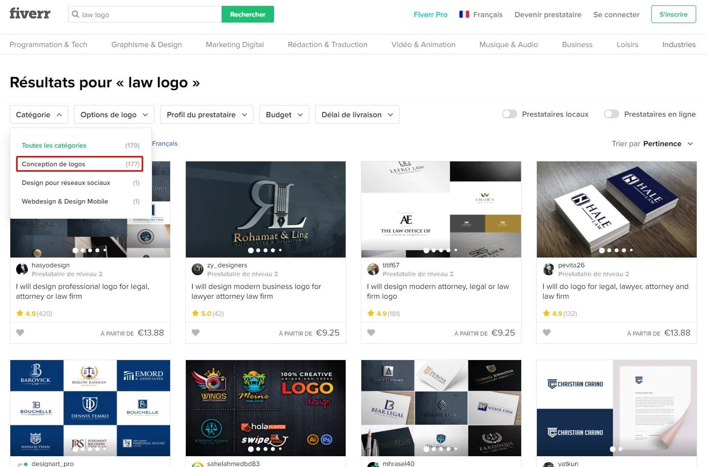 9 meilleurs logos pour cabinets juridiques, créez le vôtre
