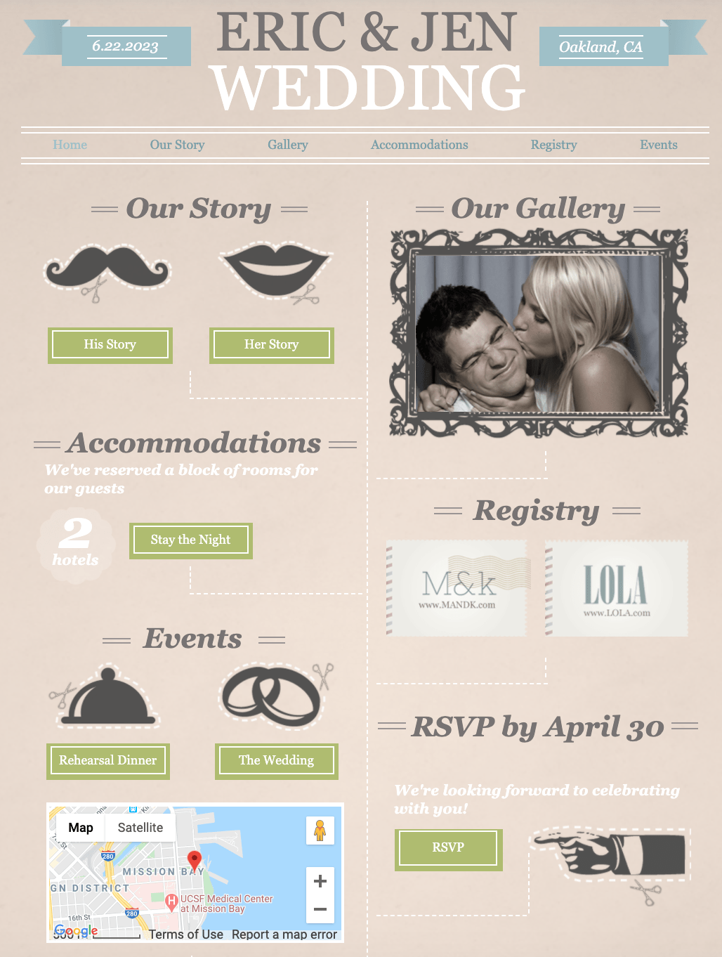 7 Best Squarespace Wedding Website Templates in 2020