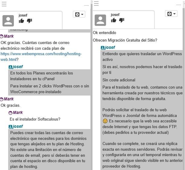 Webempresa-support