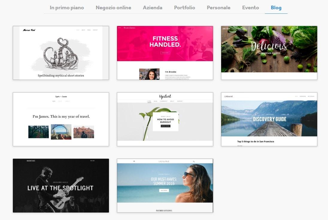 I 5 migliori (ed economici) website builder per blog culinari del 2020