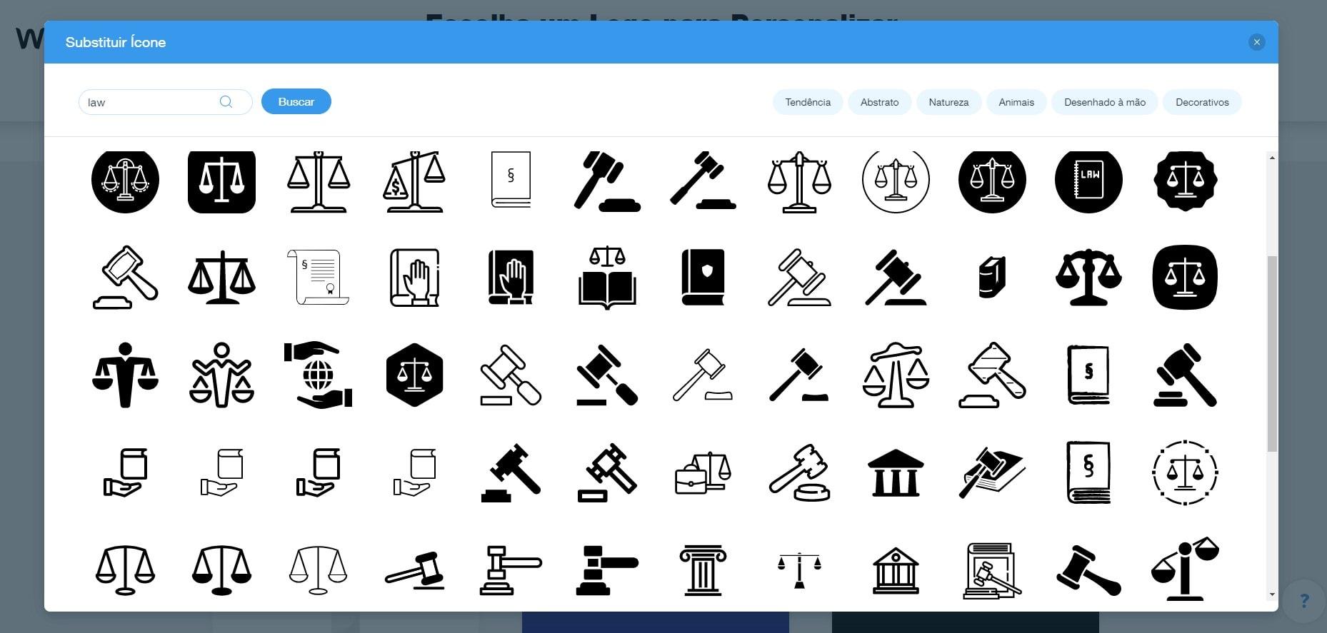 9 melhores logotipos de escritórios de advocacia e como criar seu próprio [2021]