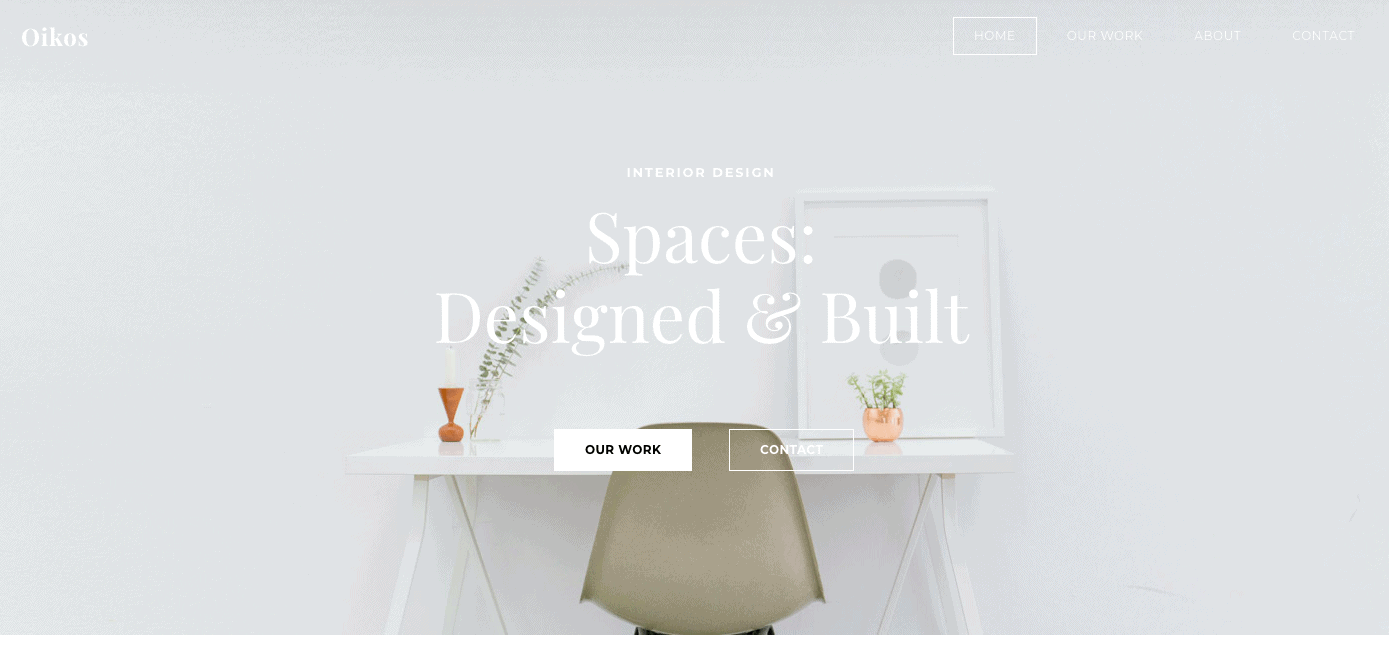 Weebly Theme for Architects