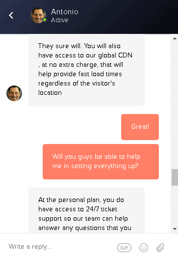 Pressable - live chat 3