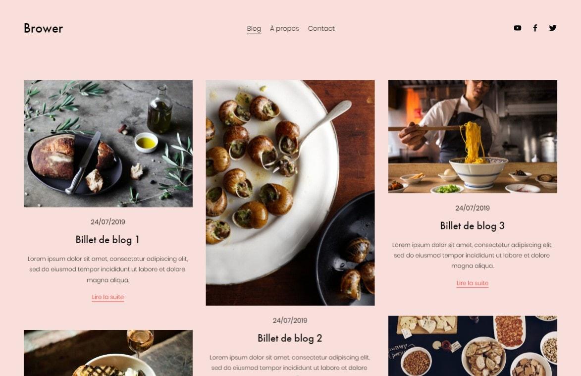 5 meilleurs créateurs de site (tous budgets) pour blog culinaire