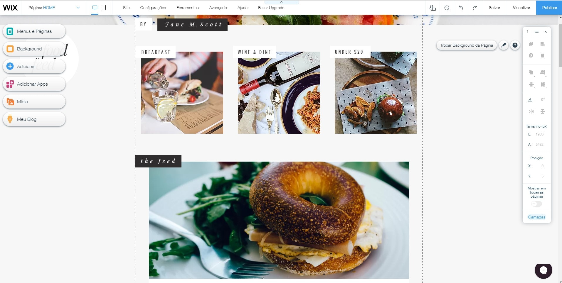 Los 5 mejores constructores web (asequibles) para blogs de comida en 2020