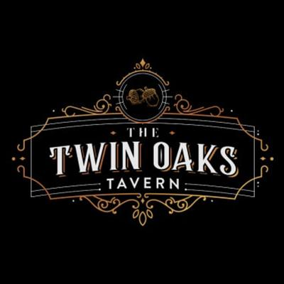 Art Deco logo - The Twin Oaks Tavern