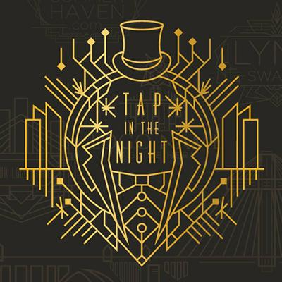 Art Deco logo - Tap in the Night