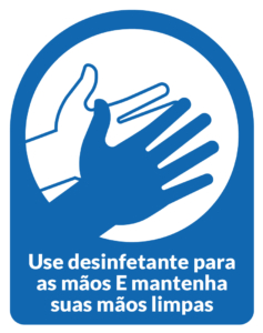 Cartazes e sinalizações imprimíveis gratuitos para COVID-19