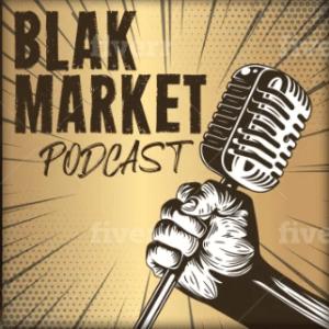 Podcast logo - Black Market podcast