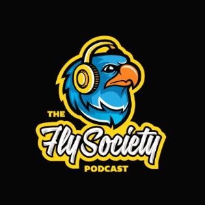 Podcast logo - The Fly Society podcast