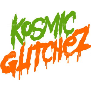 Slime logo - Kosmic Glitchez