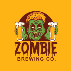 Slime logo - Zombie Brewing Co.
