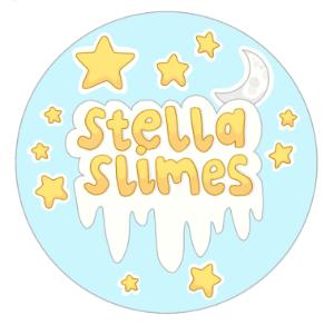 Slime logo - Stella Slimes