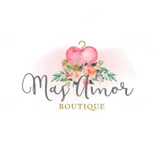 Watercolor logo - Mas Amor Boutique
