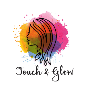 Watercolor logo - Touch and Glow