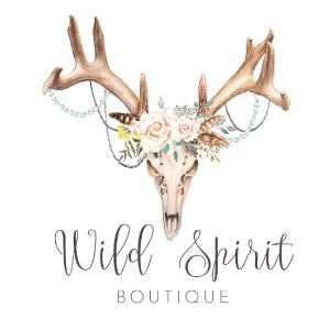 Watercolor logo - Wild Spirit Boutique