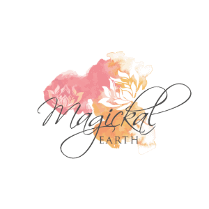 Watercolor logo - Magickal Earth