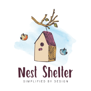 Watercolor logo - Nest Shelter