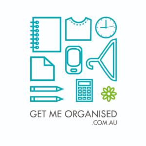 Website logo - GetMeOrganised.com.au