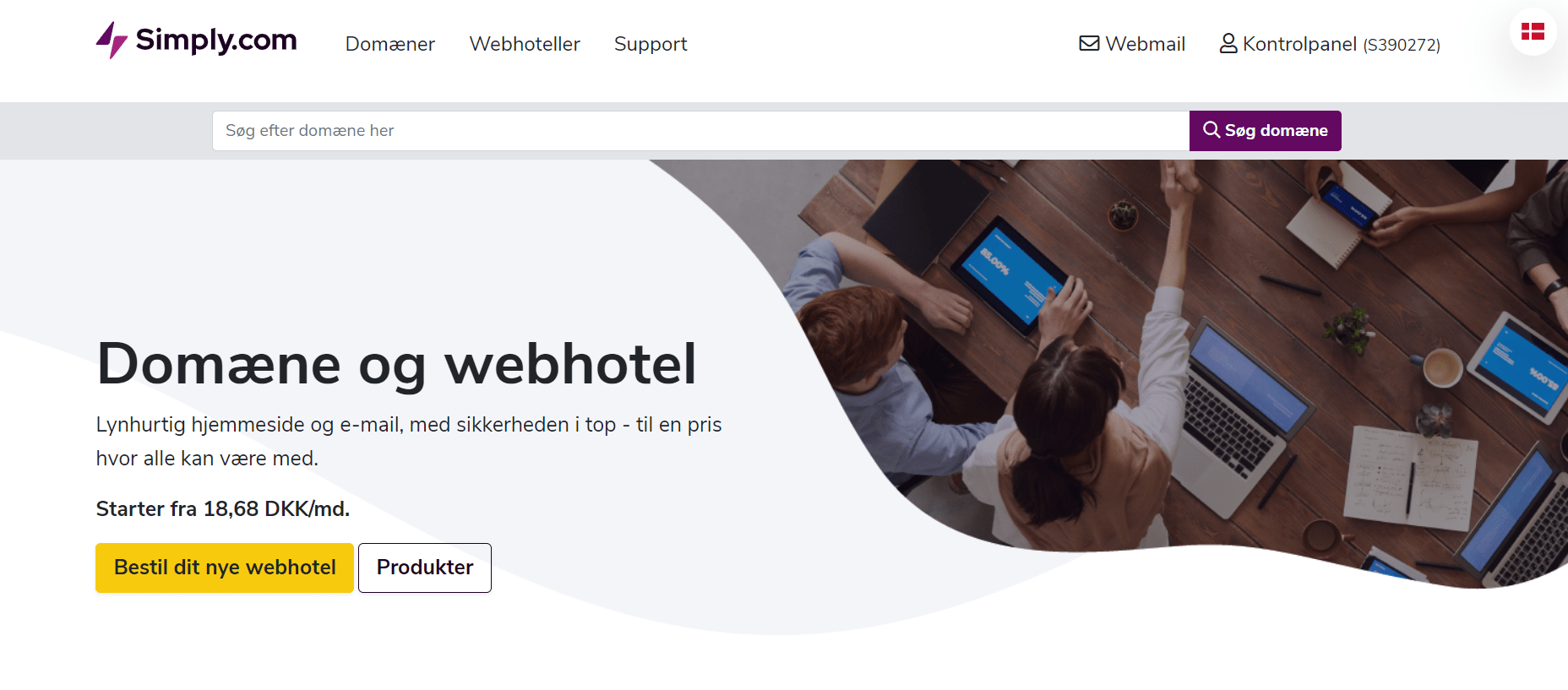 Simply.com – Fantastisk host, eller får man det man betaler for?