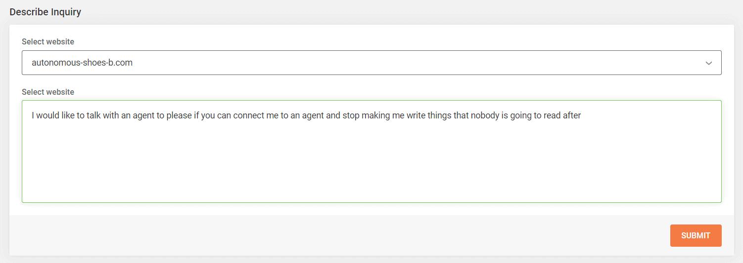 SiteGround support inquiry